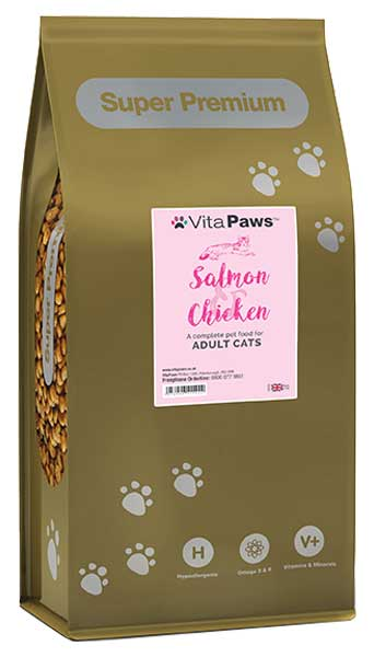 Adult Salmon & Chicken Cat Food