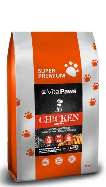 Small Breed Adult Dog Food - Chicken & Rice
