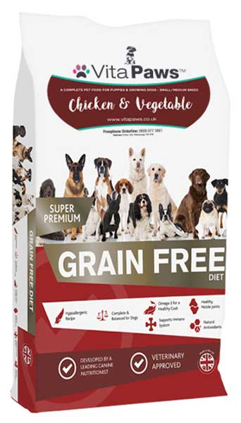 Puppy & Junior Chicken & Vegetables (Small/Medium Breed) Dog Food
