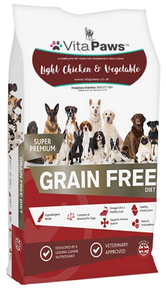 Light Chicken & Vegetable Dog Food