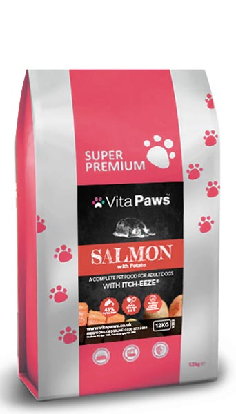 Itch-Eeze Adult Dog Food - Salmon with Trout